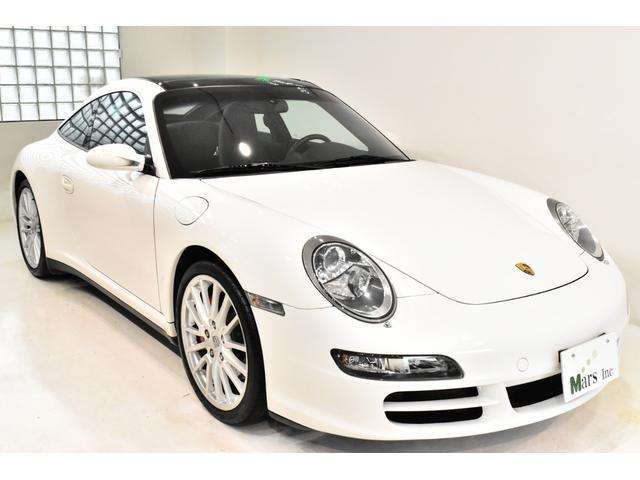 911タルガ4S 正規D車 スポクロ スポエキ シートH(4枚目)