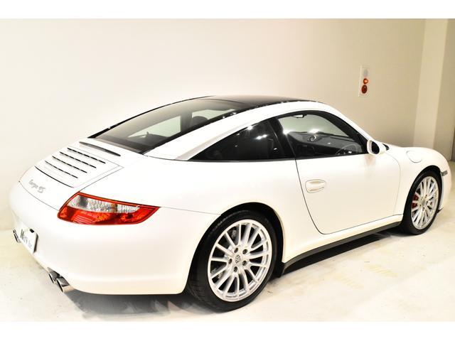 911タルガ4S 正規D車 スポクロ スポエキ シートH(8枚目)