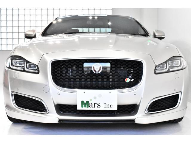 ジャガー XJR 正規D車 1オーナー LEDヘッドライト 有償ボディーカラー ツインサンルーフ 全席シートヒーター&クーラー