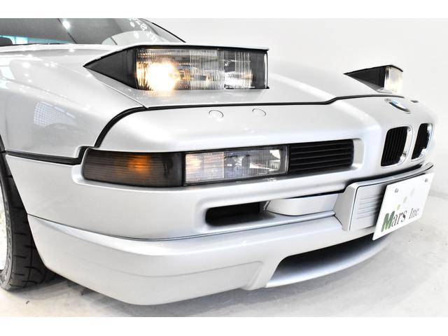 またしてもお宝モデルの登場です!90年代BMWシリーズのクーペモデル、8シリーズの最終期にリリースされた「840Ci リミテッド」です!空力デザインが流行していたこの時期