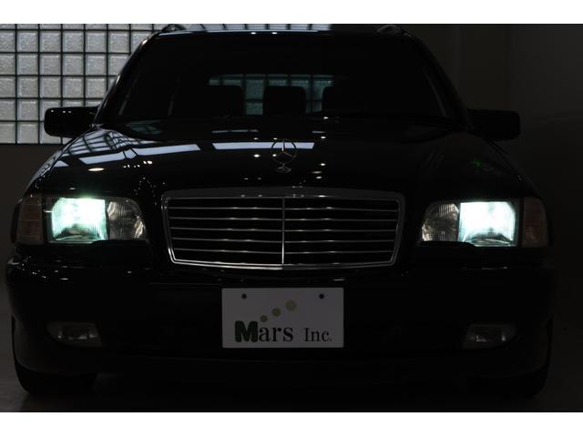 オブシディアンブラック/ブラックレザー/正規ディーラー車/最終モデル/5速AT/ホワイトAMGスピードメーター/左ハンドル/ETCユニット