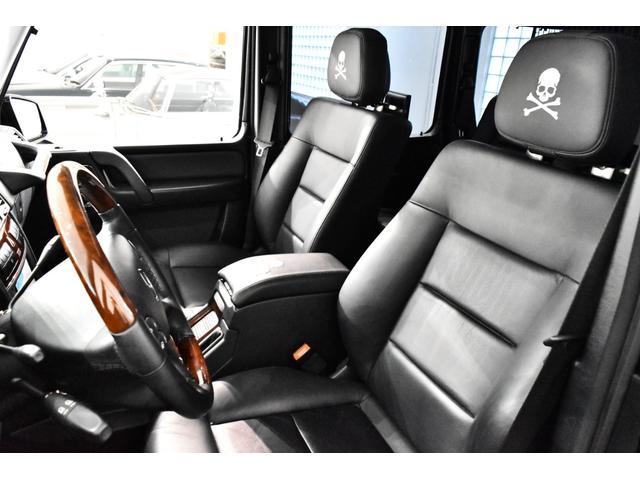 G55 AMGロング マスターマインドリミテッド 正規ディーラー車 マスターマインドLTD 特別仕様5台限定車 OP120 G63タイプFバンパー ED463タイプアンダーガード 地デジTV Bカメラ 左ハンドル(9枚目)