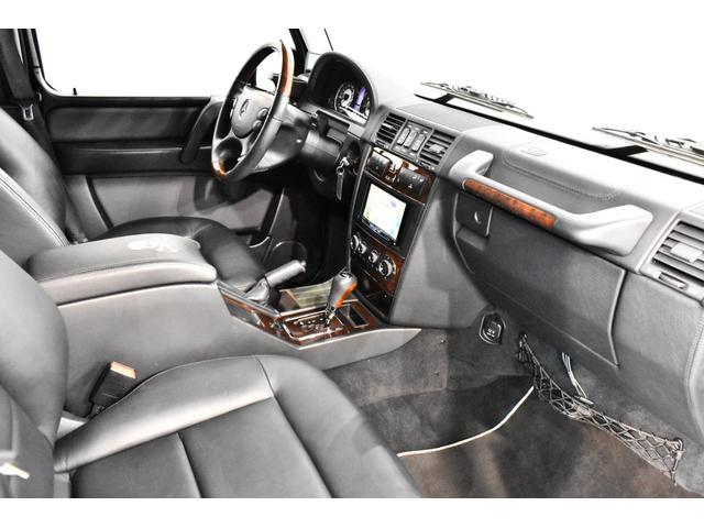 G55 AMGロング マスターマインドリミテッド 正規ディーラー車 マスターマインドLTD 特別仕様5台限定車 OP120 G63タイプFバンパー ED463タイプアンダーガード 地デジTV Bカメラ 左ハンドル(10枚目)