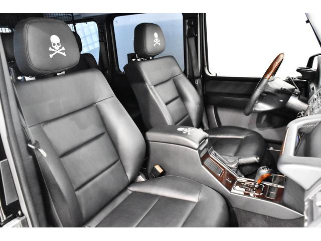 G55 AMGロング マスターマインドリミテッド 正規ディーラー車 マスターマインドLTD 特別仕様5台限定車 OP120 G63タイプFバンパー ED463タイプアンダーガード 地デジTV Bカメラ 左ハンドル(11枚目)