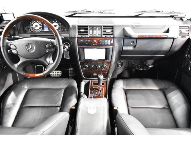 G55 AMGロング マスターマインドリミテッド 正規ディーラー車 マスターマインドLTD 特別仕様5台限定車 OP120 G63タイプFバンパー ED463タイプアンダーガード 地デジTV Bカメラ 左ハンドル(13枚目)