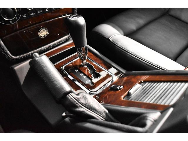 G55 AMGロング マスターマインドリミテッド 正規ディーラー車 マスターマインドLTD 特別仕様5台限定車 OP120 G63タイプFバンパー ED463タイプアンダーガード 地デジTV Bカメラ 左ハンドル(18枚目)