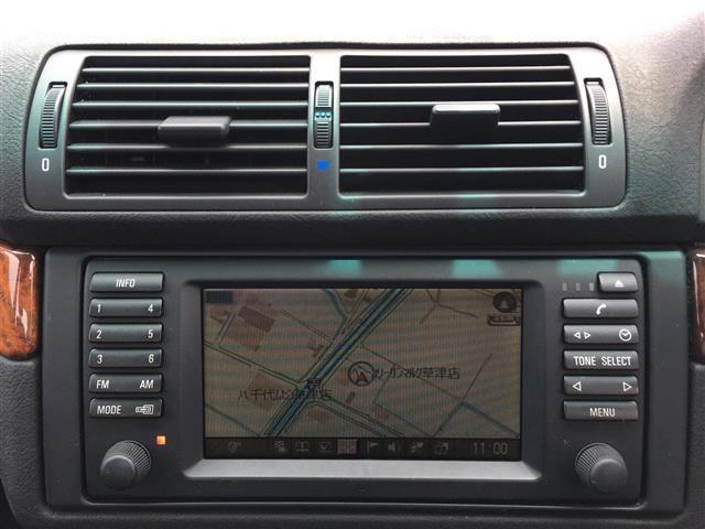 525i 黒革パワーシート クルコン メーカーナビ ETC(4枚目)