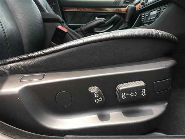 525i 黒革パワーシート クルコン メーカーナビ ETC(5枚目)