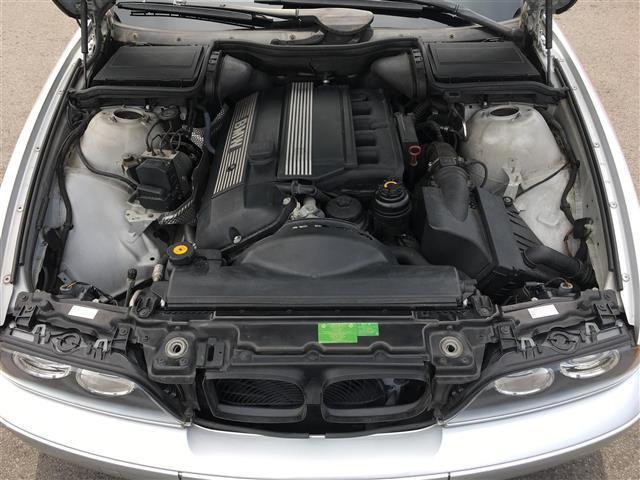 525i 黒革パワーシート クルコン メーカーナビ ETC(20枚目)
