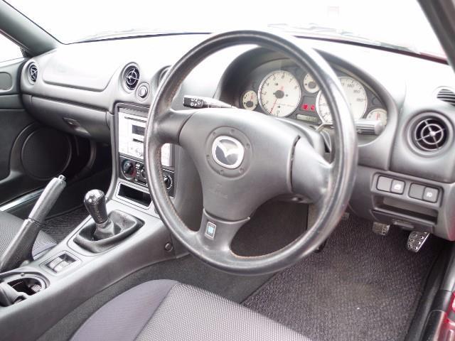 マツダ ロードスター RS ワンオーナー ETC CD アルミホイール
