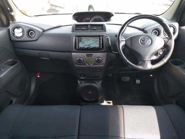 トヨタ bB Z Qバージョン 純正HDDナビ 社外17インチAW HID