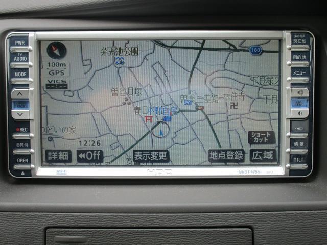 トヨタ アイシス L パワースライドドア HDDナビ ETC