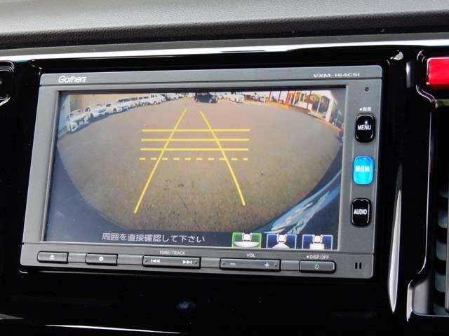 リアカメラ搭載なので、車庫入れ 駐車が苦手な方でも簡単にできますよ!