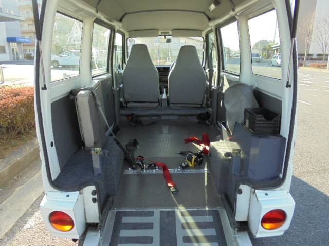 三菱 ミニキャブバン スローバー 車椅子移動車 パワステ パワーウィンドウ