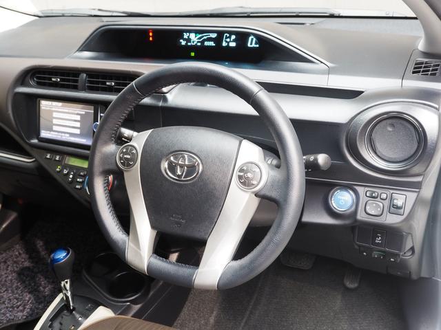 トヨタ アクア G メモリーナビ バックモニター スマートキー ETC