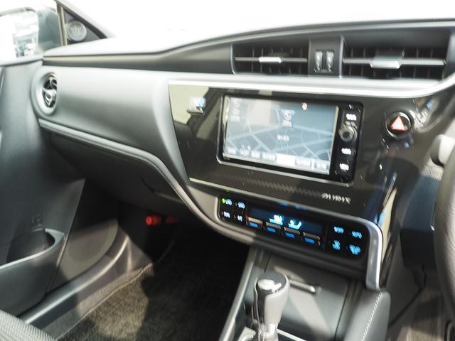 トヨタ オーリス 150X Sパッケージ TSS-C装備車 フルセグSDナビ