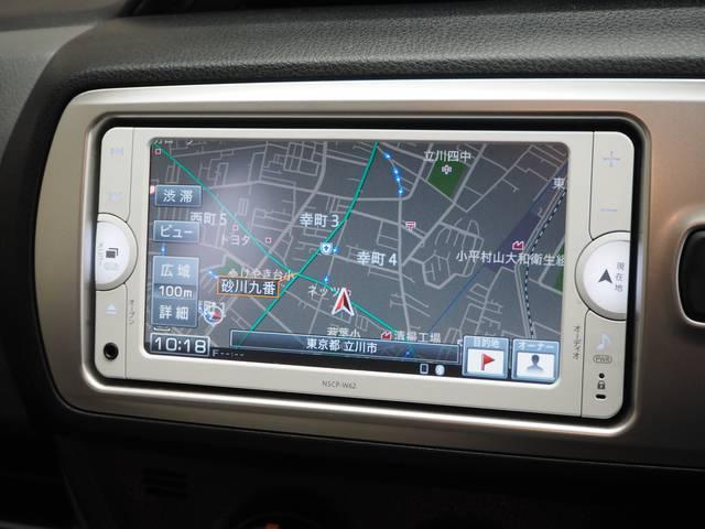 トヨタ ヴィッツ F 当社社用車 SDナビ バックモニター ETC