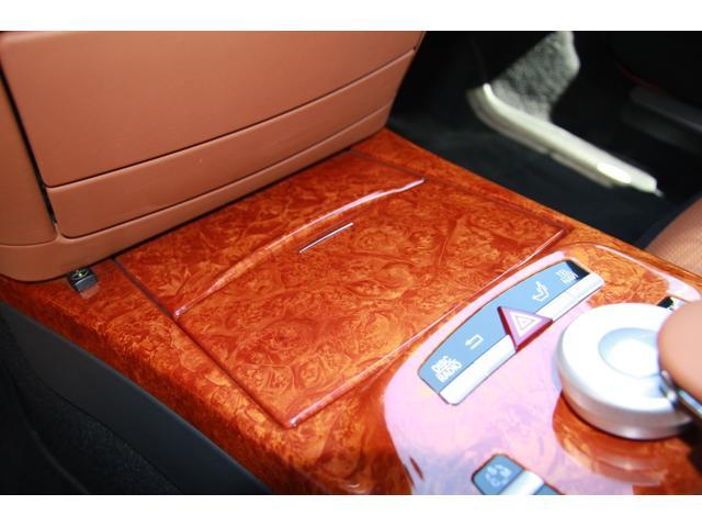 S63 AMGロング デジーノインテリア ブラウン系レザー(12枚目)