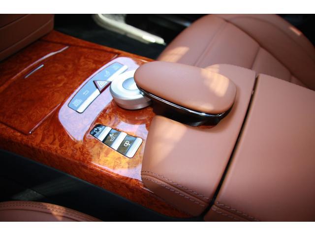 S63 AMGロング デジーノインテリア ブラウン系レザー(13枚目)