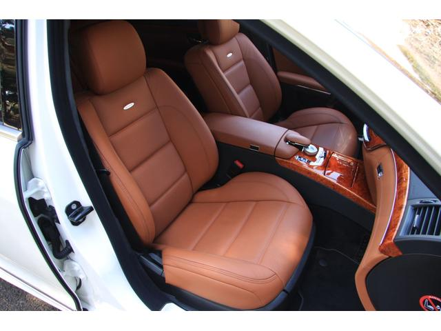 S63 AMGロング デジーノインテリア ブラウン系レザー(15枚目)