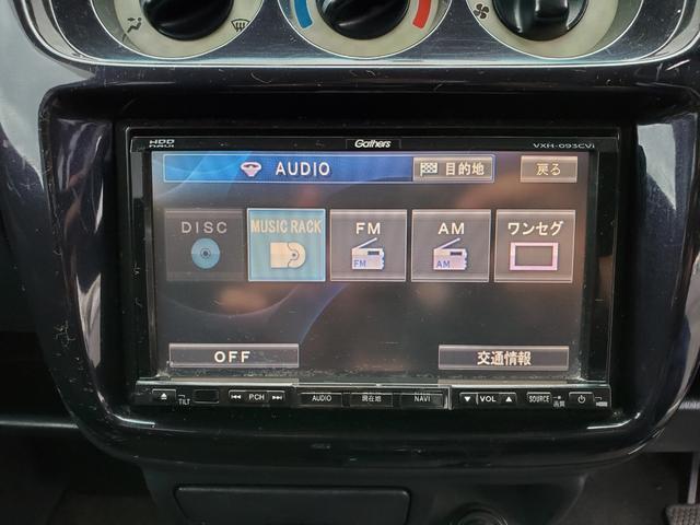 Lターボ HDDナビ ワンセグTV アルミホイール キーレス 両側スライドドア(11枚目)