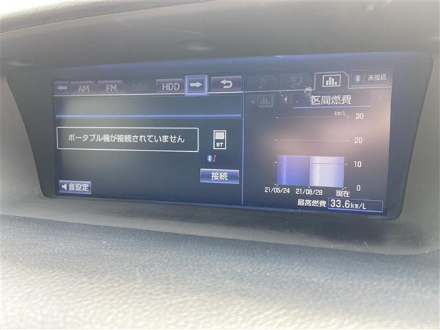 GS300h Iパッケージ 純正ナビ/CD・DVD再生/Bluetooth/バックカメラ/クルーズコントロール/LED/ETC/ヘッドライトウォッシャー/電動リアサンシェード/純正アルミホイール/プッシュスタート(5枚目)