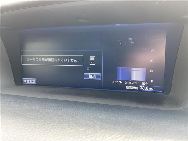 GS300h Iパッケージ 純正ナビ/CD・DVD再生/Bluetooth/バックカメラ/クルーズコントロール/LED/ETC/ヘッドライトウォッシャー/電動リアサンシェード/純正アルミホイール/プッシュスタート(6枚目)