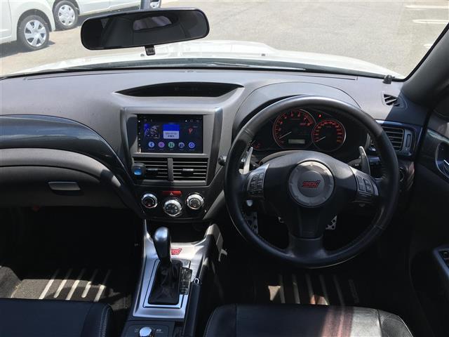 WRX STI Aライン 4WD Androidナビ  レザーシート 横滑防止(3枚目)