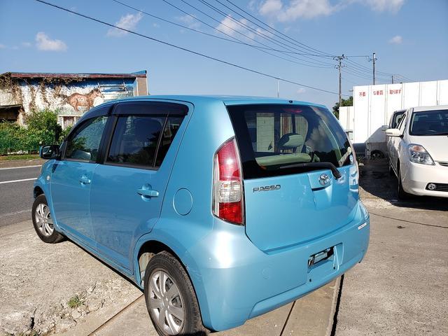「トヨタ」「パッソ」「コンパクトカー」「千葉県」の中古車5