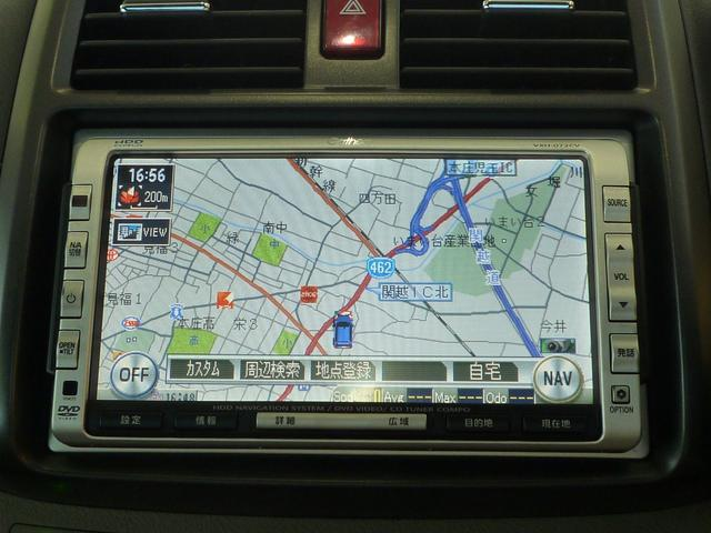 Honda純正HDDナビゲーション