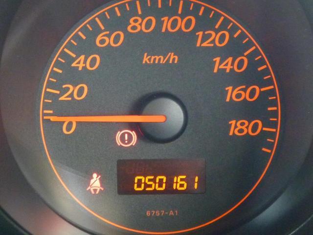 走行キロ数は50,161kmです