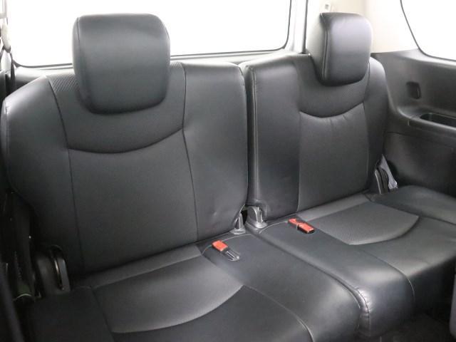 サードシートも快適です。