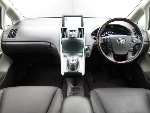 トヨタ SAI G ASパッケージ 本革シート HDDナビ フルセグTV
