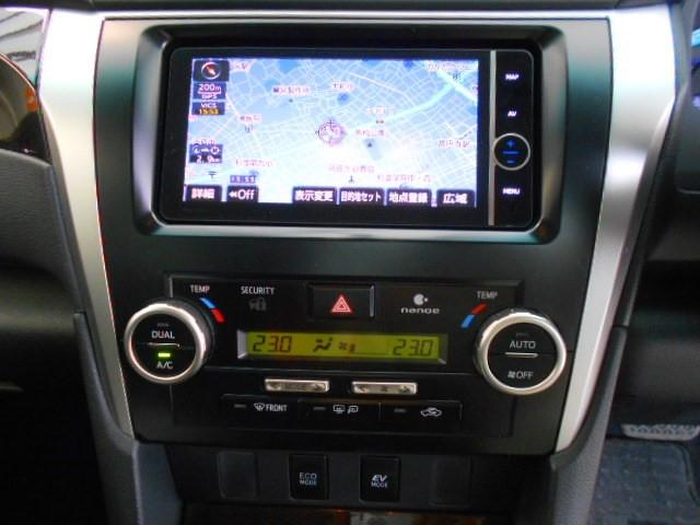 トヨタ カムリ ハイブリッド Gパッケージ HDDナビ Bモニター ETC