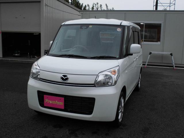 マツダ フレアワゴン XG レーダーブレーキ 純正SDナビ ワンセグ
