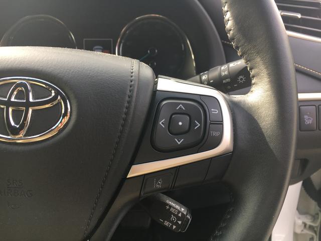トヨタ ハリアーハイブリッド プレミアム SDナビ 地デジ ヒッチメンバー 4WD 禁煙車