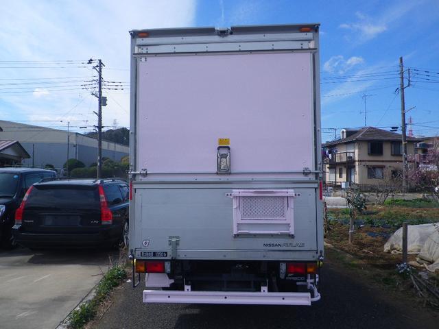 パネルバン 移動販売車 キッチンカー 左右開口部 換気扇照明(5枚目)