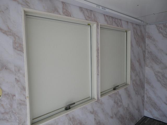 パネルバン 移動販売車 キッチンカー 左右開口部 換気扇照明(6枚目)