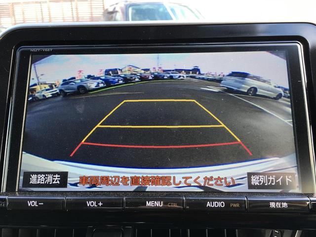 トヨタ C-HR G-T 純正ナビ 地デジ バックカメラ ハーフレザーシート