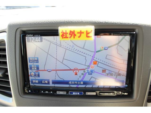 X 社外ナビフルセグBカメラ片側電動ドアi-stop(2枚目)