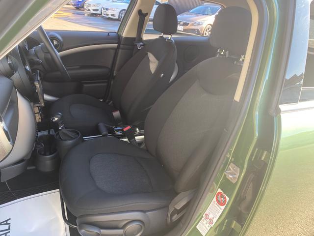 クーパーD クロスオーバー オール4 ワンオーナー 社外ナビ 地デジ D/Nシートヒーター コーナーセンサー ドライブレコーダー HIDライト オートライト ETC(8枚目)