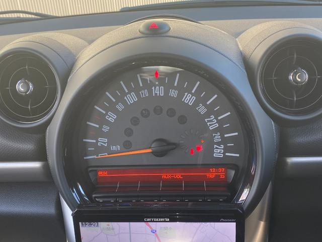 クーパーD クロスオーバー オール4 ワンオーナー 社外ナビ 地デジ D/Nシートヒーター コーナーセンサー ドライブレコーダー HIDライト オートライト ETC(10枚目)