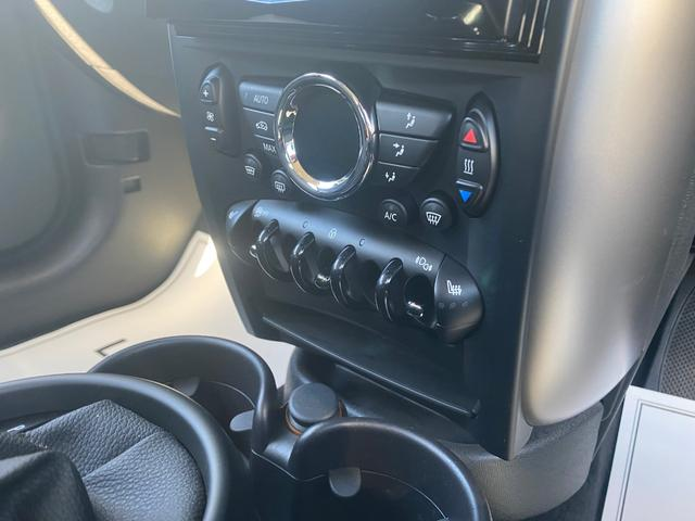 クーパーD クロスオーバー オール4 ワンオーナー 社外ナビ 地デジ D/Nシートヒーター コーナーセンサー ドライブレコーダー HIDライト オートライト ETC(12枚目)
