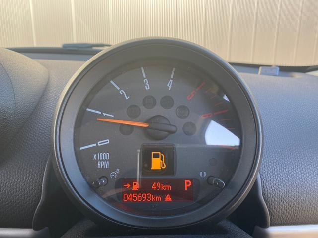 クーパーD クロスオーバー オール4 ワンオーナー 社外ナビ 地デジ D/Nシートヒーター コーナーセンサー ドライブレコーダー HIDライト オートライト ETC(18枚目)