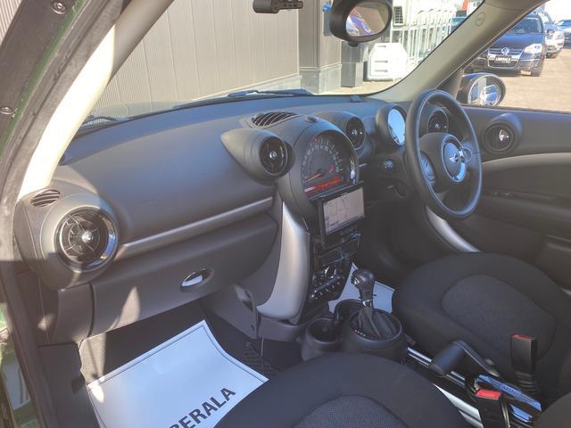 クーパーD クロスオーバー オール4 ワンオーナー 社外ナビ 地デジ D/Nシートヒーター コーナーセンサー ドライブレコーダー HIDライト オートライト ETC(37枚目)