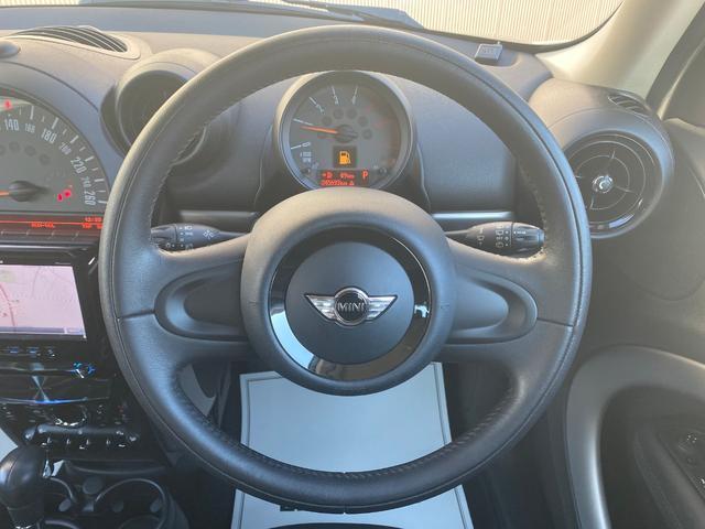 クーパーD クロスオーバー オール4 ワンオーナー 社外ナビ 地デジ D/Nシートヒーター コーナーセンサー ドライブレコーダー HIDライト オートライト ETC(39枚目)