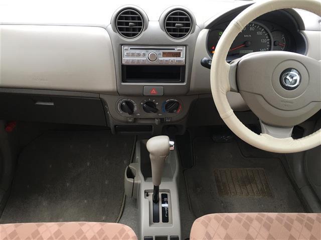 マツダ キャロル X キーレス CD 車検2年 キーレス  走行1.1万km
