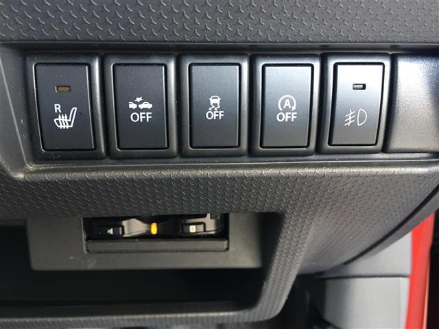 Jスタイル レーダーブレーキサポート/社外SDナビ/地デジ(ワンセグ)/DVD/CD/USB/運転席シートヒーター/アイドリングストップ/プッシュエンジンスタート/純正フロアマット(10枚目)