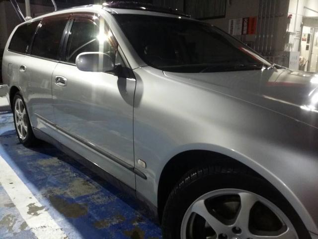 日産 ステージア 250RX ツインサンルーフ 本革シート キーレス