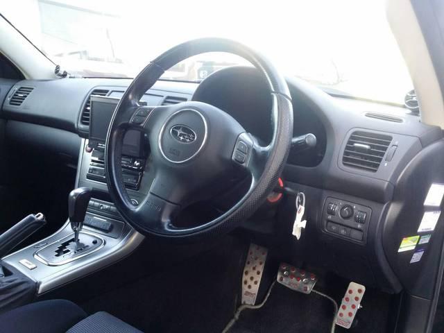 スバル レガシィツーリングワゴン 2.0GT STIリップスポイラー 社外マフラー Pシート